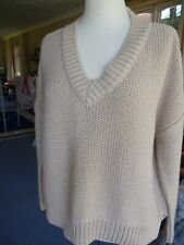 Marks & Spencer Autograph Heavy chunky knitted sweater/top size  12 oversize, ba