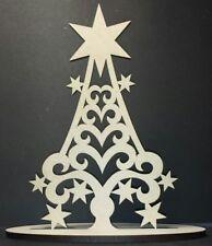 Christmass Tree MDF craft shape model christmas tree decoration
