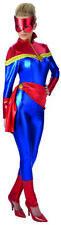 Captain Marvel Deluxe Kostüm für Erwachsene Damen