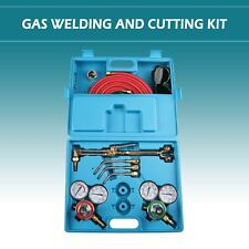 Gas Welding and Cutting Kit | Victor Type Acetylene Oxygen Torch Set Regulator.