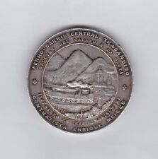 SILVER  TRANS-ANDES RAILROAD MEDAL 1870