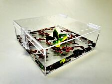 3/4 GALLON CAGE WITH HINGED TOP FOR TARANTULA,REPTILES,SPIDERS, TERRARIUM, SNAKE