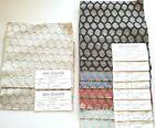 (10) Vint JANE CHURCHILL Fabric Remnants - CELENA - Assorted - 8 1/2'sq -   $155