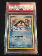 Pokemon 2006 Krabby Reverse Holo EX Crystal Guardians PSA 10 ONLY 1 IN EXISTENCE