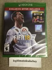 FIFA 18 (Microsoft Xbox One, 2017) Exclusive Offer Included *BRAND NEW*