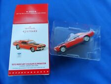 Hallmark 1970 Mercury Cougar Eliminator Ornament Brand NEW