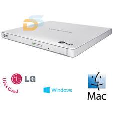 Masterizzatore Lettore Esterno Dvd Cd Rw Slim Lg Silver Per Mac Os E Windows 10