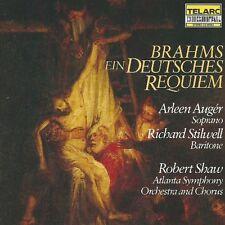 Robert Shaw - Brahms Ein Deutsches Requiem CD Telarc Japan NO BARCODE