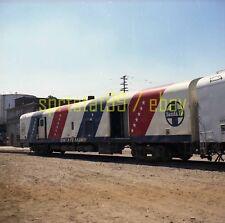 ATSF Santa Fe Bicentennial Baggage Car #133 - Color Railroad Negative c1974