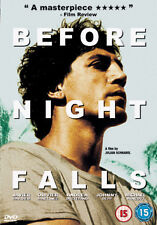 BEFORE NIGHT FALLS - DVD - REGION 2 UK