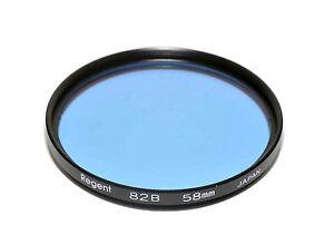 Regent (Kood) 82B Filter Made in Japan 58mm Glass Filter