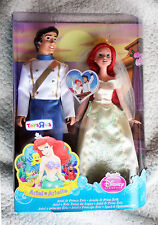 DISNEY PRINCESS (MATTEL), WEDDING PAIR: ARIEL & PRINCE ERIC, SUPER RARE VERSION!