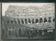 Italie, Rome, Intérieur du Colisée, ca.1900, Vintage silver print Vintage silver