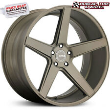 "KMC KM685 District Matte Bronze 19""x8.5 Custom Wheel (ONE Rim)"