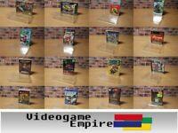 10x MEGA SET GameGuard Box Protectors Nintendo/Sega/Playstation/Atari/Game Boy