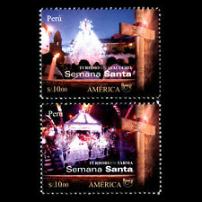 Peru 2018 - America UPAEP 2017 Issue - Tourist Destinations - MNH