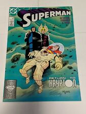 Superman #18 June 1988 DC Comics Byrne Kesel  Mignola Cover