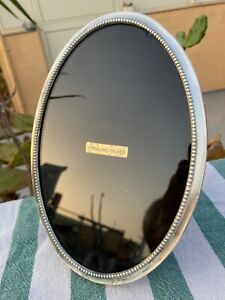 Art Deco Isabel Cabanillas Sterling Silver*Bakelit Photo picture Frame Barcelona