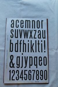 Club Scrap BISTRO July 2007 Unmounted Rubber Stamps NEW ~ Alphabet & Numbers