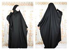 French Jilbab Women Loose Maxi Dress Long Sleeve Islamic Dress Muslim High Quali