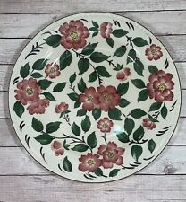 More details for vintage wood & sons irish rose dinner plate. 25cm good condition beautiful