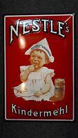 Plaque émaillée Nestlé 60 cm * 40 cm