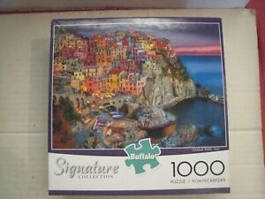 New 1000 Piece Puzzle; Cinque Terre, Italy; Buffalo Games; Signature Collection