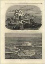 1866 Quadrilateral Fortresses Verona, Nautical Drama Surrey Theatre