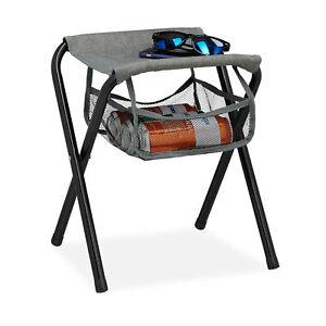 Campinghocker faltbar mit Tasche Klapphocker Sitzhocker Falthocker Angelhocker