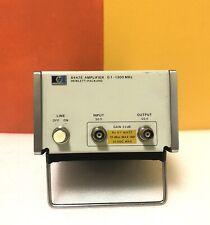 HP  / Agilent 8447E, 100 kHz to 1.3 GHz, BNC (F), 22 dB, RF Amplifier