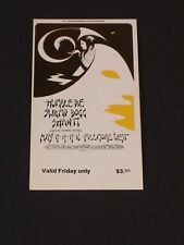 BG280 HUMBLE PIE Psychedelic FILLMORE TICKET by DAVID SINGER