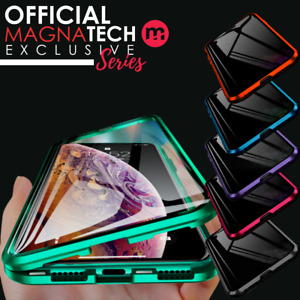 For Apple iPhone 12 11 XR XS Pro Max Magnetic Metal Case Cover 360° FRONT + BACK