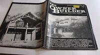 THE OWNER BUILDER MAGAZINE NO.20 August / November 1986 paperback