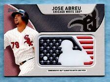 2017 Topps Baseball ~ Jose Abreu ~ White Sox ~ Independence Day Logo Patch