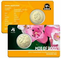2019 MOB OF ROOS Privy Melbourne Expo Common Heath Coin on Card