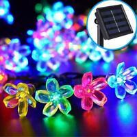 LED Solar String Light Outdoor Garden Party Decor Cherry Light. Blossom D9V4