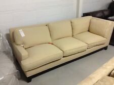 Pottery Barn Seabury Couch Sectional Camel Basket Weave LEFT ARM SOFA return