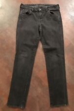 Women's OLD NAVY The Sweetheart Charcoal Gray Skinny Jeans Size 6