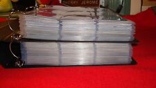 X-FILES  2 BINDERS FULL of 12 base sets ( 954 trading  cards)