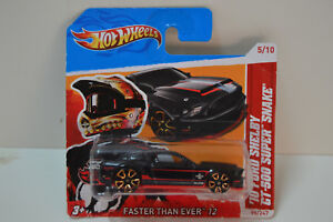 Hot Wheels - '10 Ford Shelby GT-500 - SUPER SNAKE - 2010
