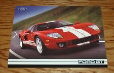 2005 Ford GT Fact Feature Sales Sheet Brochure 05