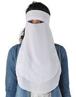 Women's Clothing Other Women's Clothing Niqab Three-ply Hijab Burka Khimar Islamic Face Veil Prayer Clothes