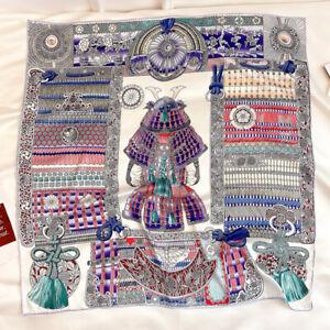 Imitate Twill Silk Polyester Scarf Fashion Armor Printed Shawl Kerchief 90*90cm