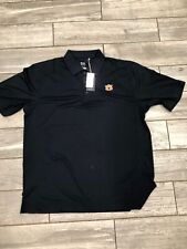 Cutter & Buck Auburn Tigers CB DryTec Navy Short Sleeve Polo 2XL NWT