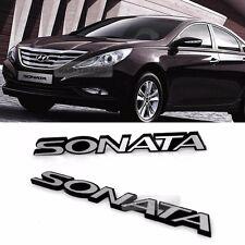 Fit: Hyundai 2011 2012 i45 YF Sonata Brenthon Emblem Type 2 Rear Trunk 1Pcs