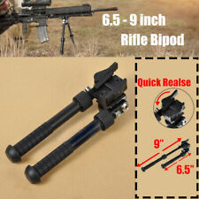 4.5-9 inches Hunting Bipod Adjustable Quick Release Mount 360 Degree Swivel
