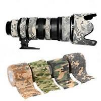 Nastro mimetico camouflage mimetizzare fotocamera armi caccia campeggio militare
