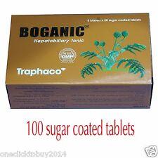 100 tablets Boganic Hepatobiliary tonic, Reduce Cholesterol Treat Liver-function