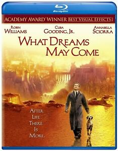 WHAT DREAMS MAY COME Blu Ray (ROBIN WILLIAMS) New & Sealed