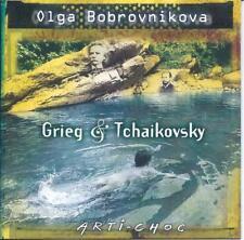 OLGA BOBROVNIKOVA: Piano / GRIEG & TCHAIKOVSKY CD, OOP, RARE, LIKE NEW